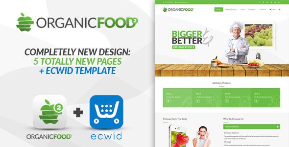 Download Organic Food - Responsive Joomla Template Responsive Joomla Templates
