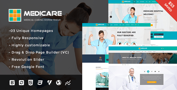 Download Medicare - Medical and Health Responsive WordPress Theme Health WordPress Themes