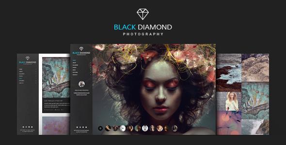 Download DIAMOND - Photography WordPress Theme Black WordPress Themes