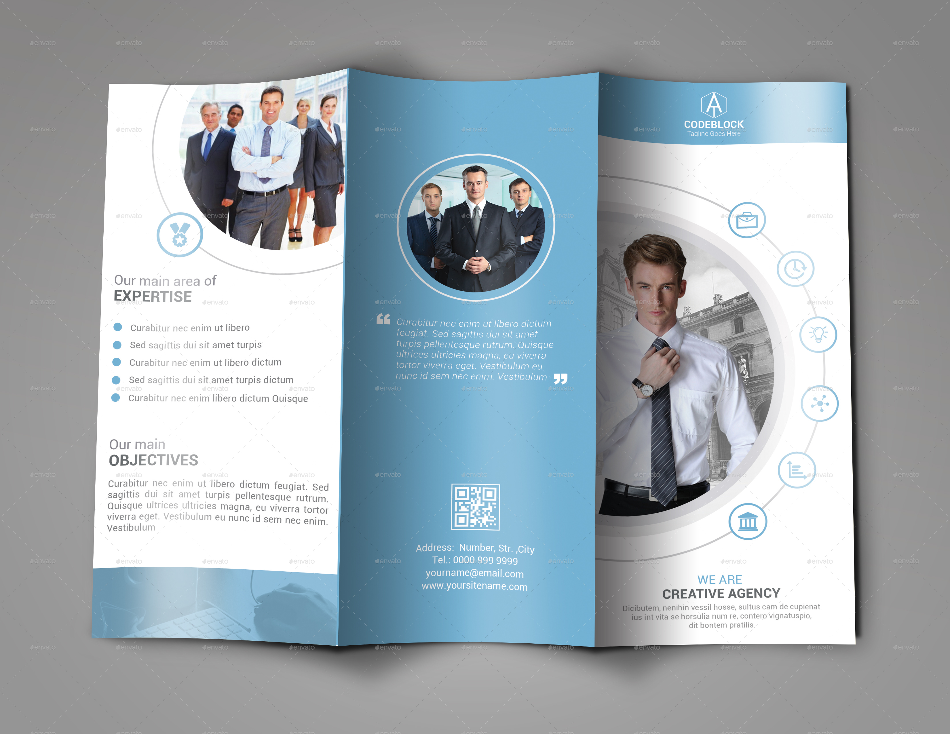Business Tri fold Brochure Design by MurtalaWork   GraphicRiver Business Tri fold Brochure Design   Corporate Brochures      Preview Image  Set 01 Screenshot jpg