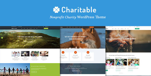 Download Charitable - Charity Nonprofit Organization WordPress Theme Organization WordPress Themes