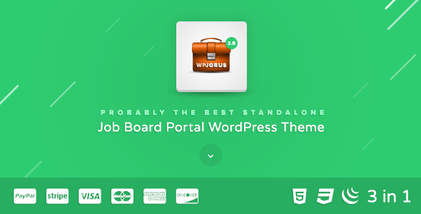 Download WPJobus - Job Board and Resumes WordPress Theme Job WordPress Themes