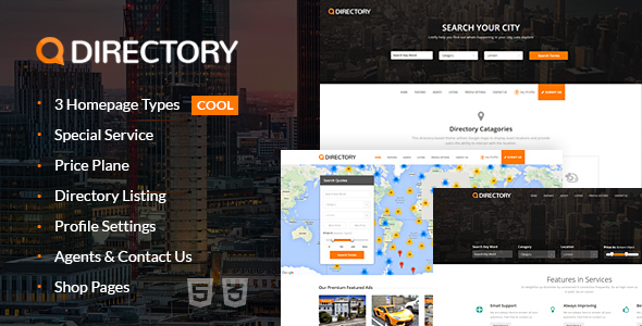 Download Directory Multi Purpose Html Template Adsense Html Templates