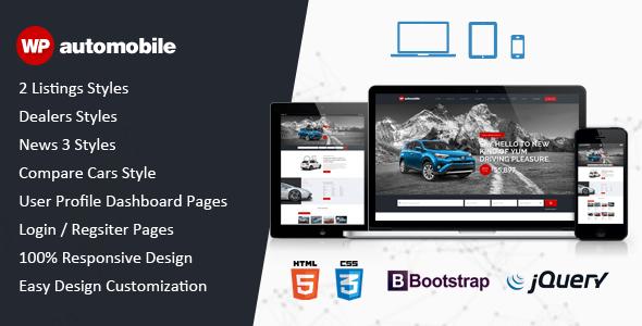 Download AutoMobile   Responsive Car Dealer HTML Template Car Html Templates
