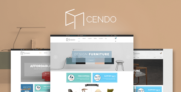 Download Cendo - Responsive HTML Furniture Template Furniture Html Templates
