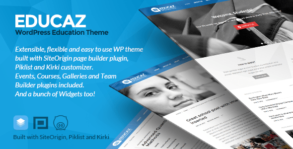 Download Educaz - WP academic - education theme University WordPress Themes