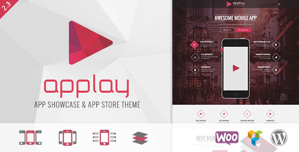 Download Applay - WordPress App Showcase & App Store Theme Coming Soon WordPress Themes