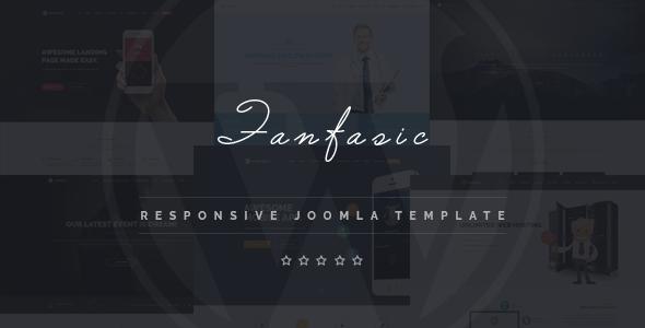 Download Fantasic - Multipurpose Joomla Landing Page Template Modern Joomla Templates