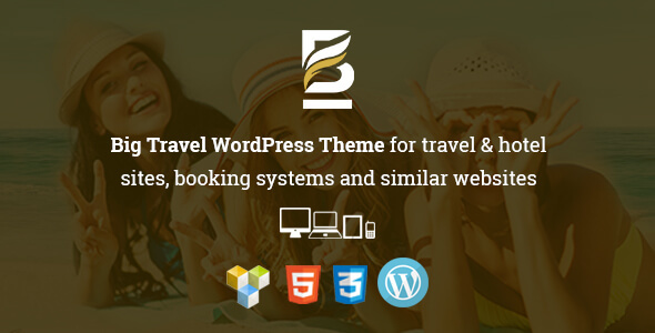 Download Big Travel Responsive WordPress Theme for Travel & Resort Sites Amp WordPress Themes