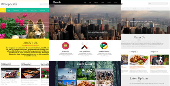 Download BCorporate - Responsive Blogger Template Responsive Blogger Templates