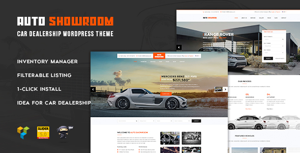Download Auto Showroom - Car Dealership WordPress Theme Automotive WordPress Themes