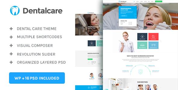 Download Dental Care : Medical - Dentist - Health Wordpress Theme Health WordPress Themes