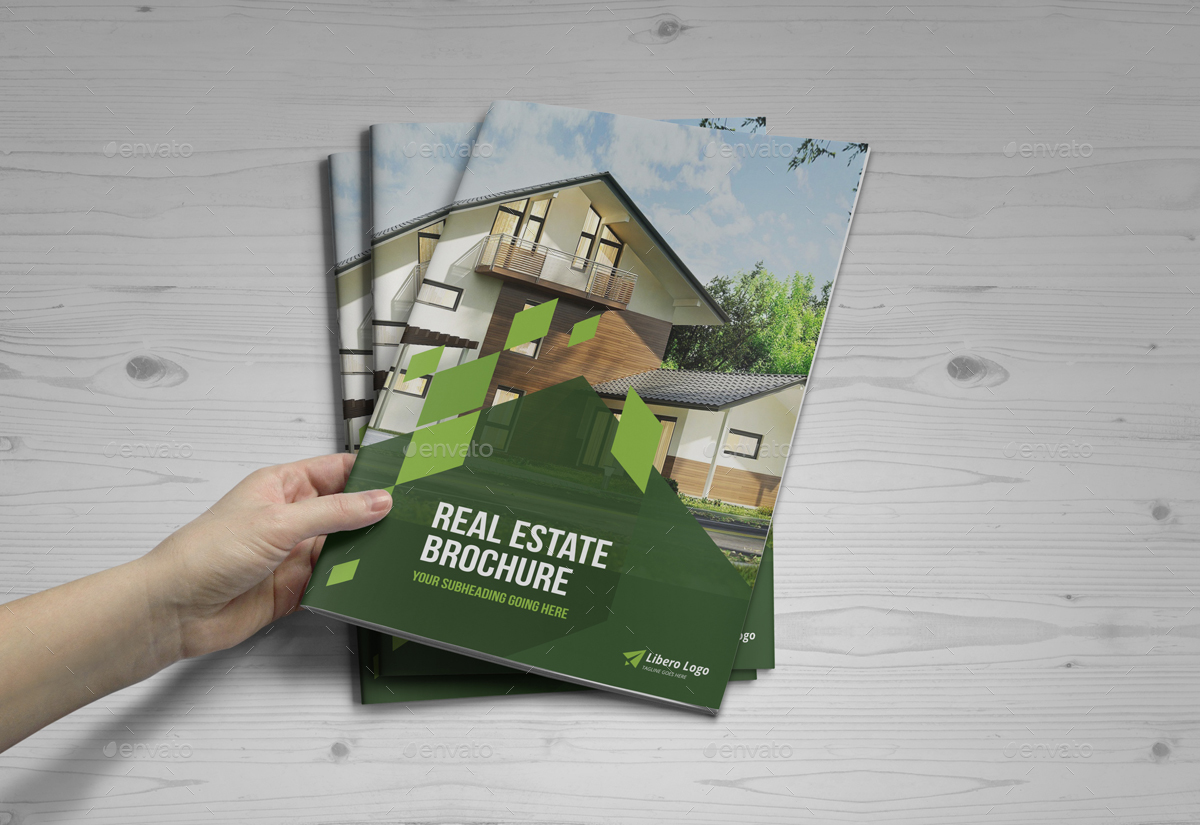 Real Estate Brochure Design by Miyaji75   GraphicRiver Real Estate Brochure Design