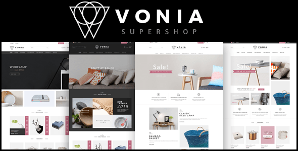 Download Vonia - Furniture Bootstrap Template Furniture Html Templates