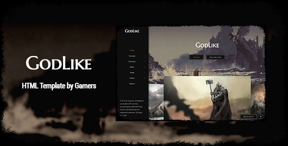 Download GodLike | The Game Template Game Html Templates