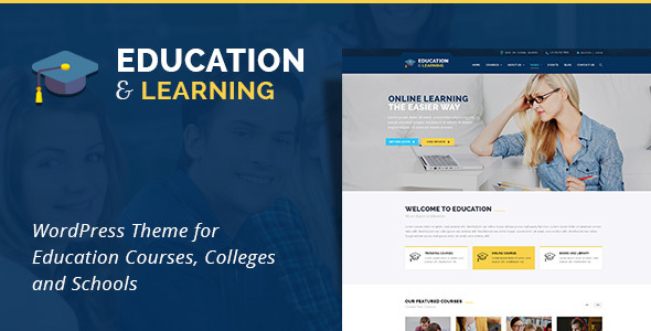 Download EducationWP -  Education WordPress Theme Education WordPress Themes
