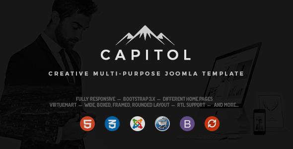 Download Capitol - Creative Multipurpose Joomla Template Store Joomla Templates