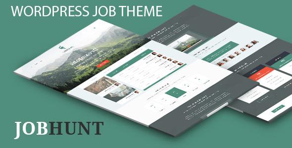 Download Job hunt job Board WordPress Theme Job WordPress Themes