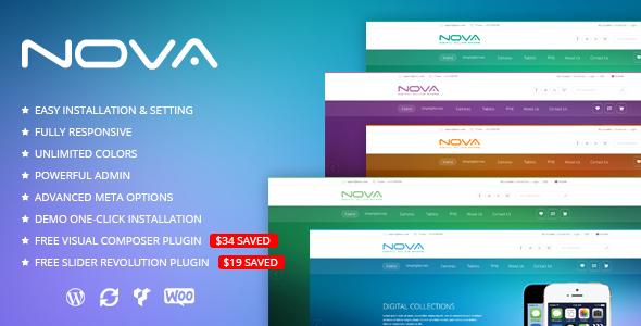 Download SNS Nova - Digital Store WordPress Theme Store WordPress Themes