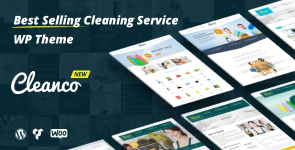 Download Cleanco - Cleaning Company WordPress Theme Company WordPress Themes