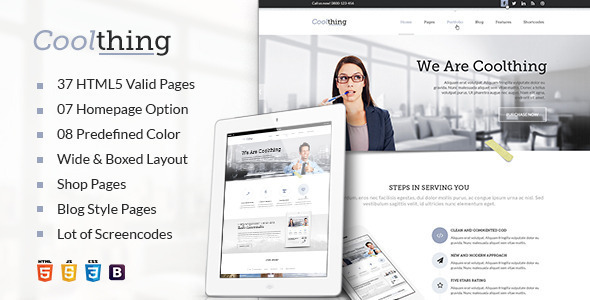 Download Cool Corporate - Corporate Business Template White Html Templates