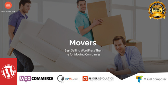 Download Movers - Moving Company WordPress Theme Company WordPress Themes