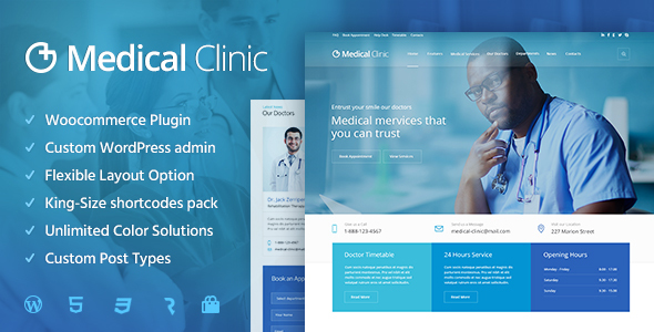 Download Medical Clinic - Health & Doctor Medical WordPress Theme Hospital WordPress Themes