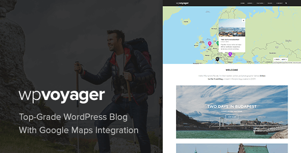 Download WPVoyager - Travel Blog WordPress Theme Travel WordPress Themes