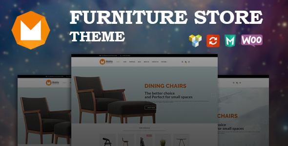 Download Mobilia - Furniture WooCommerce WordPress Theme Furniture WordPress Themes