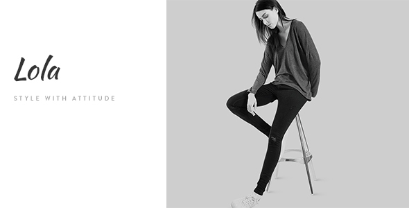Download Lola - Minimal eCommerce Fashion HTML Template Game Html Templates