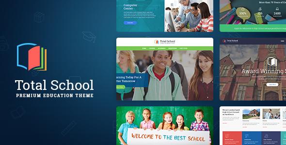 Download Total School - Primary, Secondary & High School Education WordPress Theme School WordPress Themes