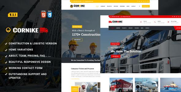 Download Construction Company HTML Template Company Html Templates