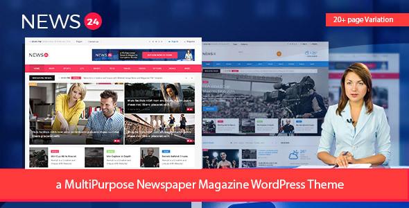Download News24 - Newspaper Magazine WordPress Theme Newspaper WordPress Themes