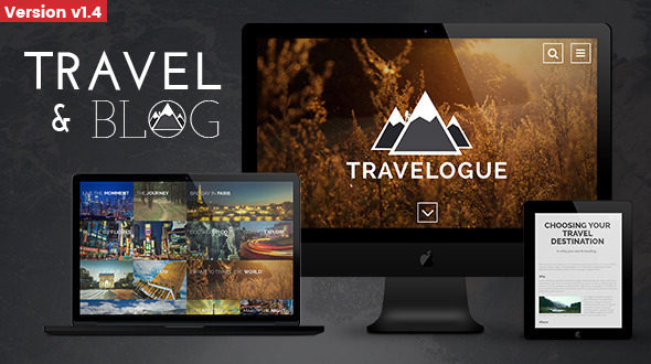 Download Travelogue - Travel Blog HTML Template Travel Html Templates