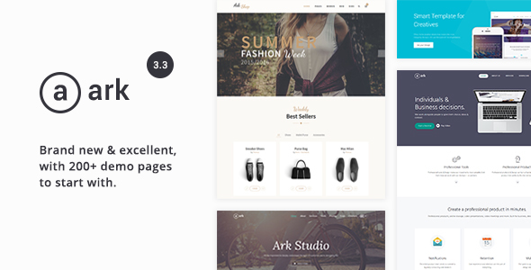 Download Ark - Responsive Multi-Purpose HTML5 Template Html5 Blogger Templates