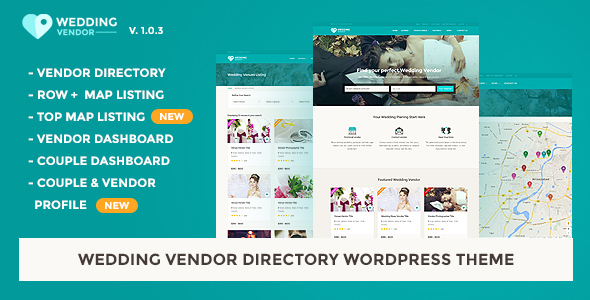 Download Vendor Directory HTML Template | Wedding Vendor Directory Html Templates