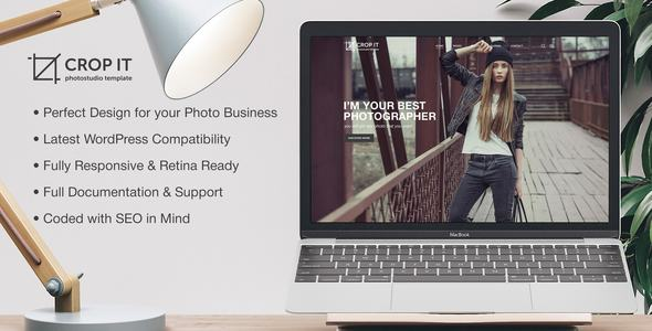 Download CropIt Photography - Photography Template WordPress Themes 2017