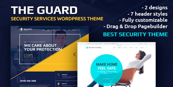 Download The Guard – Security Company WordPress Theme Company WordPress Themes