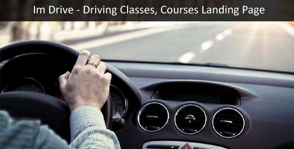 Download ImDrive - Driving School WordPress Theme School WordPress Themes