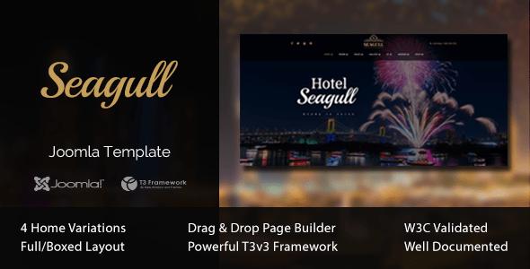 Download Seagull - Hotel & Resort Joomla Template Html5 Joomla Templates