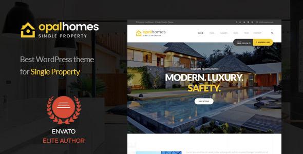 Download Opalhomes - Single Property  WordPress Theme Property WordPress Themes