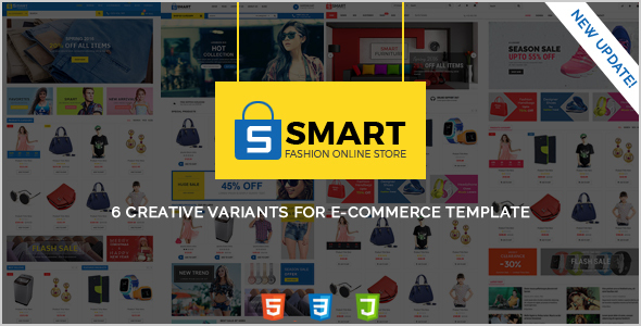 Download SMART -  Fashion Store, Furniture Store & Shoes Store HTML Template Furniture Html Templates