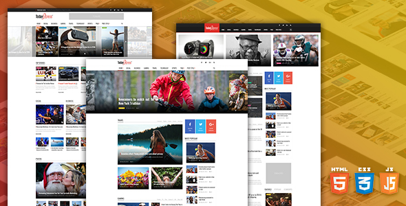 Download TodayExpress – News & Magazine HTML Template Travel Blogger Templates