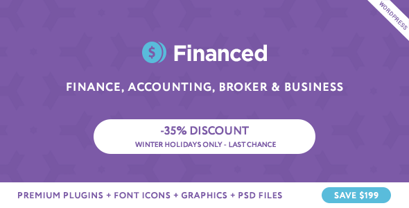 Download Financed - Finance Company WordPress Theme Company WordPress Themes
