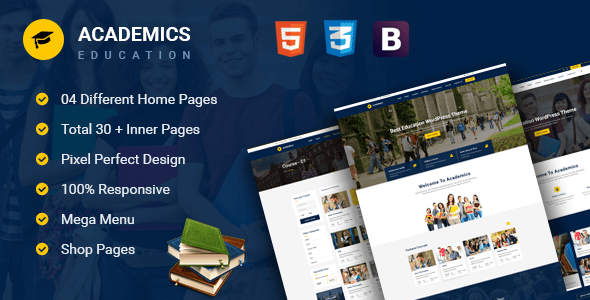 Download Academics - Education HTML Template University Html Templates