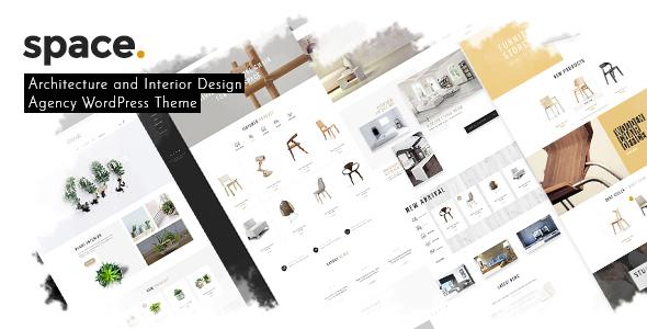 Download Space - Interior Architecture Furniture WooComerce WordPress Theme Furniture WordPress Themes