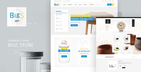 Download Big Shop - Furniture Responsive WooCommerce WordPress Theme Furniture WordPress Themes