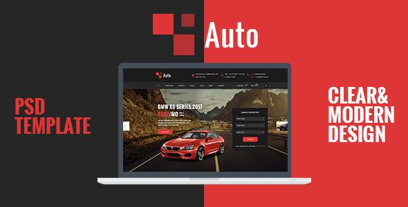 Download AUTO – Modern Car Rental Service PSD Template Car Joomla Templates