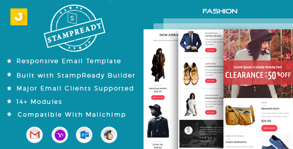 Download Fashion - Email Marketing Template Store Blogger Templates