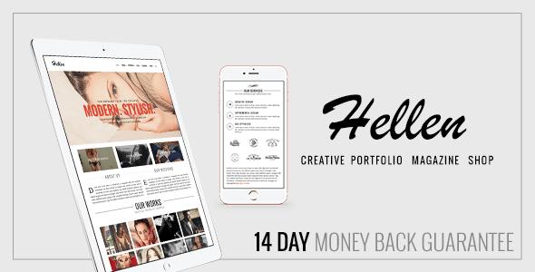 Download Hellen - Elegant & Minimalist WordPress Theme Minimalist WordPress Themes